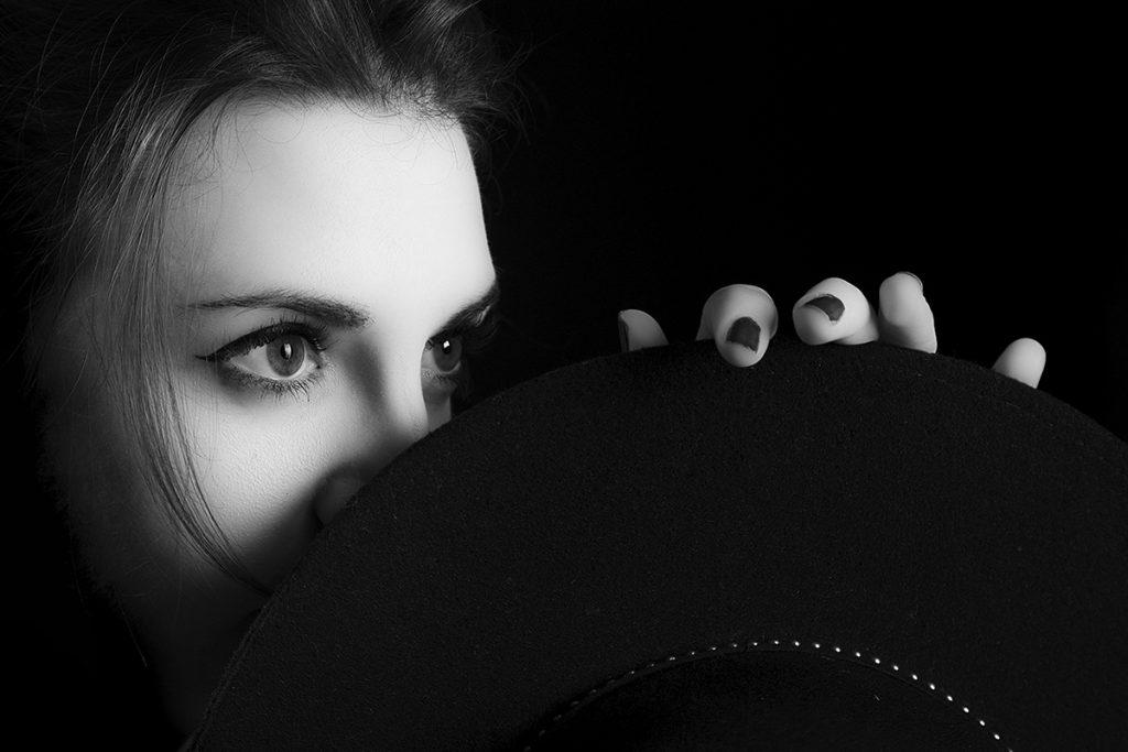 fotografía retrato blanco y negro Barcelona